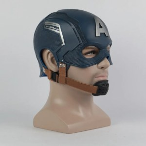 Captain America Mask Prop Replica - marvelofficial.com