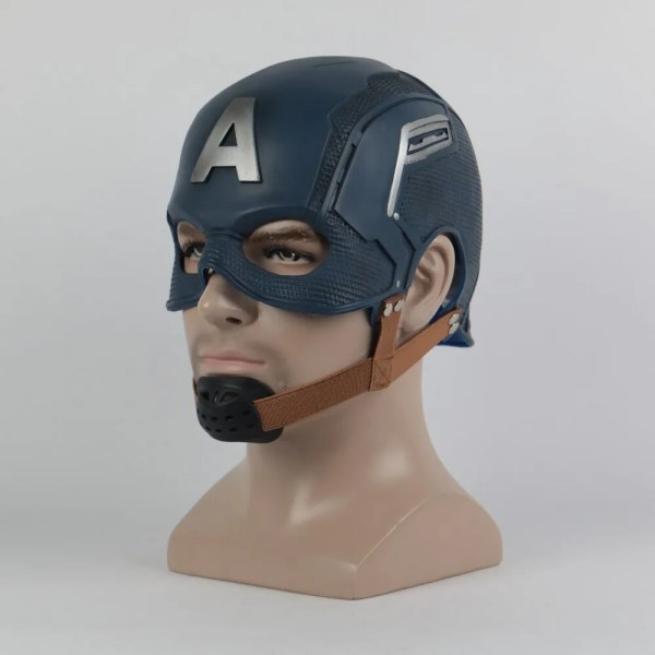 Marvel Captain America Helmet Prop Replica - marvelofficial.com