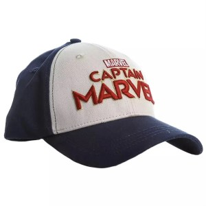 Marvel Captain Marvel Baseball Hat - Marvelofficial.com
