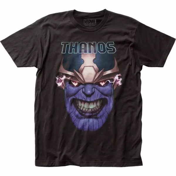 Marvel Thanos Smile T-Shirt - Marvelofficial.com