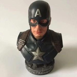 Captain America Half Bust Statue Action Figures 23cm - marvelofficial.com