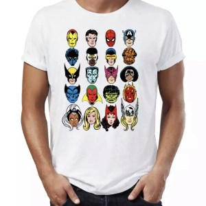 White Superheroes T-Shirt - Marvelofficial.com