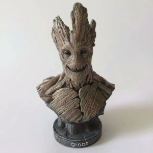 Groot Half Bust Statue Action Figures 23cm marvelofficial.com