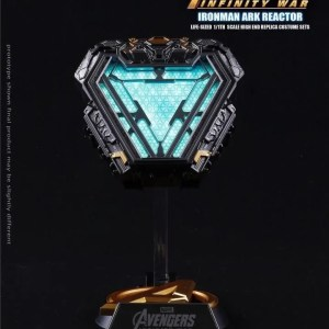 iron man arc reactor mark 50 prop replica - marvelofficial.com