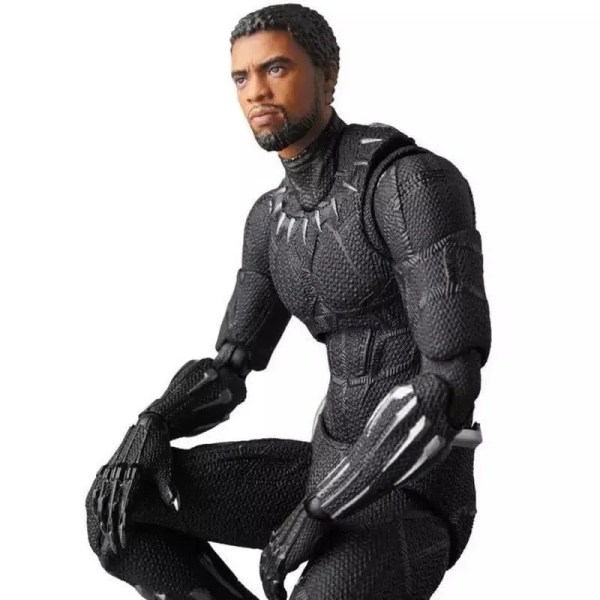 commemorative collectible black panther action figure 18cm - marvelofficial.com