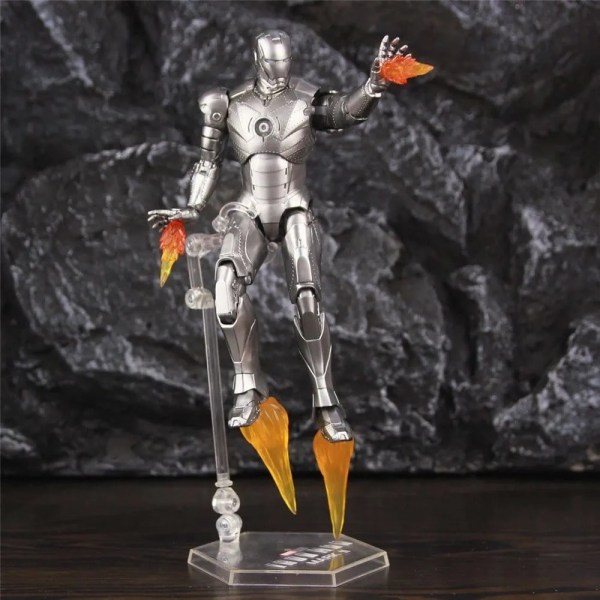 Collectible Iron Man Mark 2 Action Figure 17cm