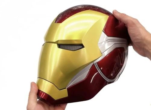 New Ironman mark 85 helmet Bluetooth speaker base - marvelofficial.com