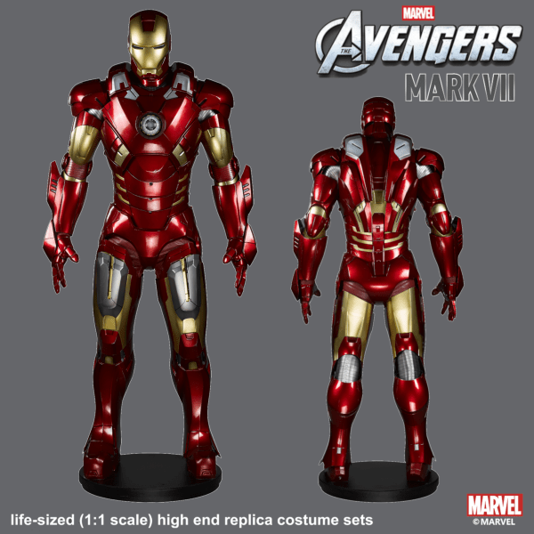 Wearable Iron Man MK 7 Suit - Deluxe Edition - marvelofficial.com