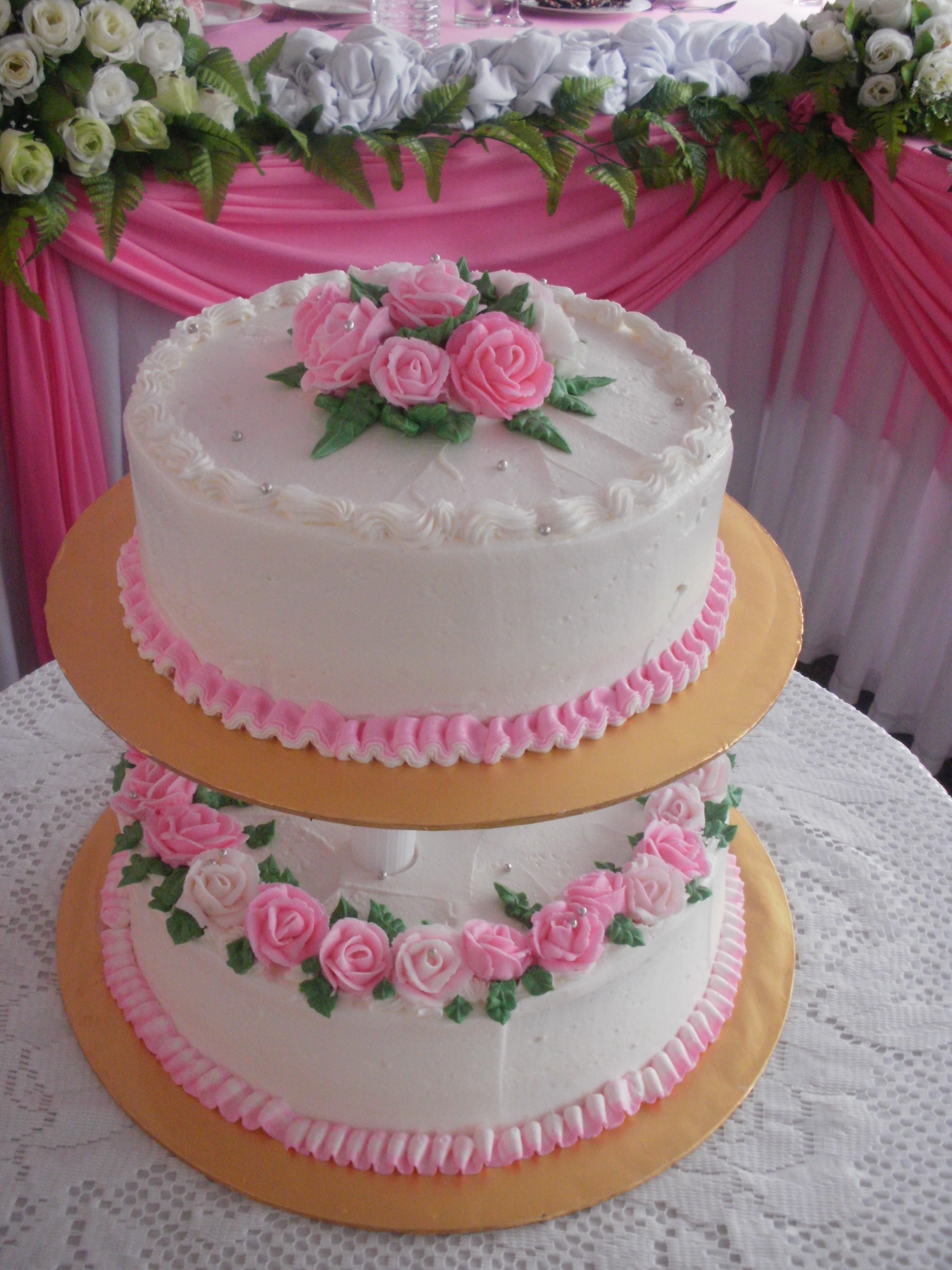 Roses Wedding Cake  Port Dickson  BOUTIQUE CAKE COOKIES