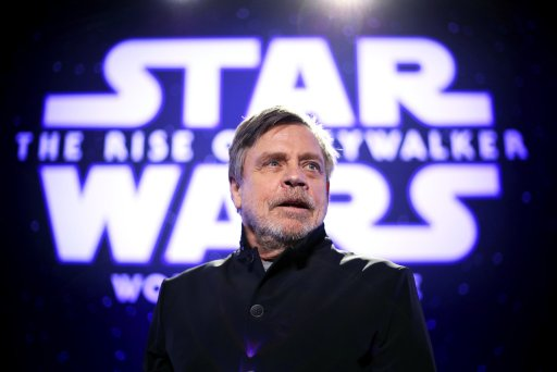 Mark Hamill at the premiere of Star Wars: The Rise of Skywalker