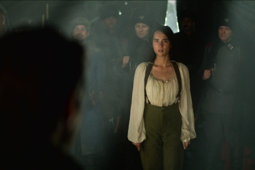 "Jessie Mei Li as Alina Starkov in Shadow and Bone's ""We're All Someone's Monster"""
