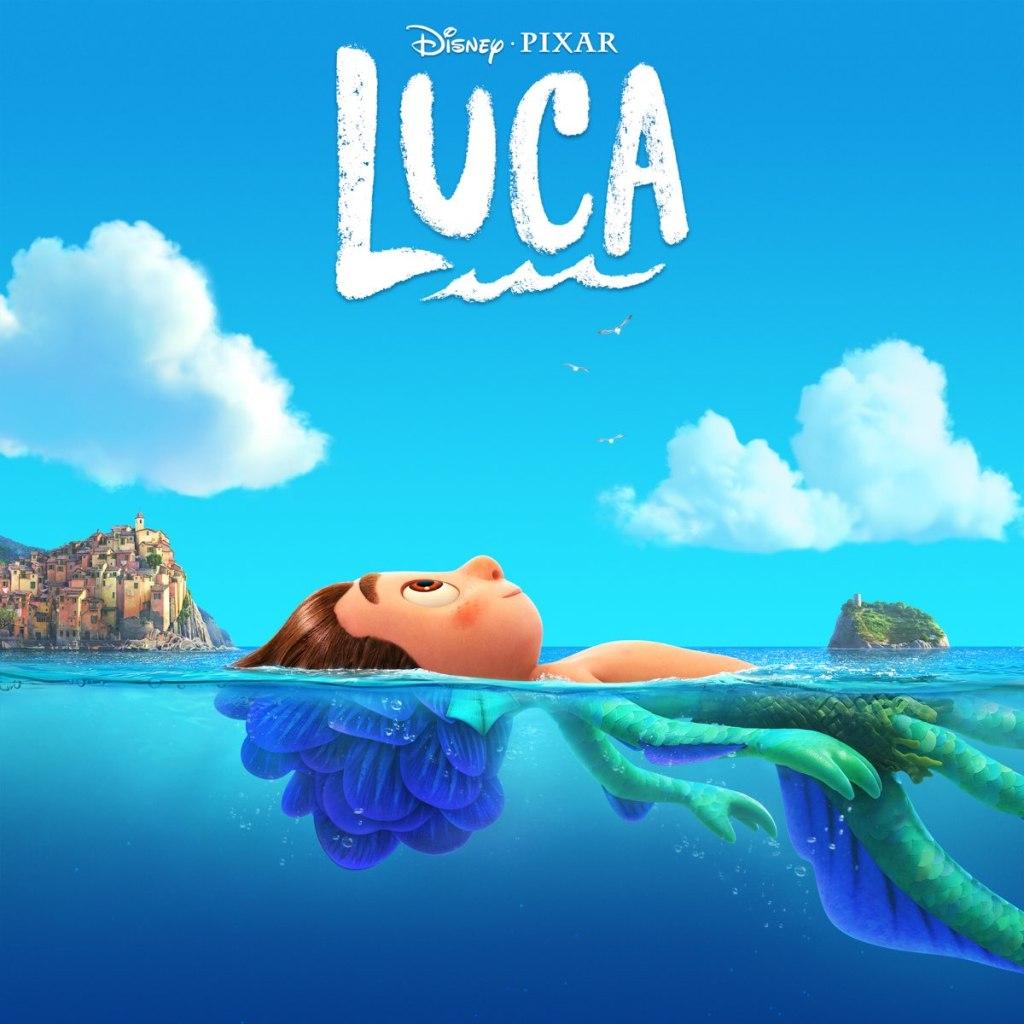 Luca original score by Dan Romer cover art.