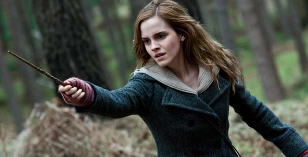Emma Watson as Hermione Granger in Harry Potter