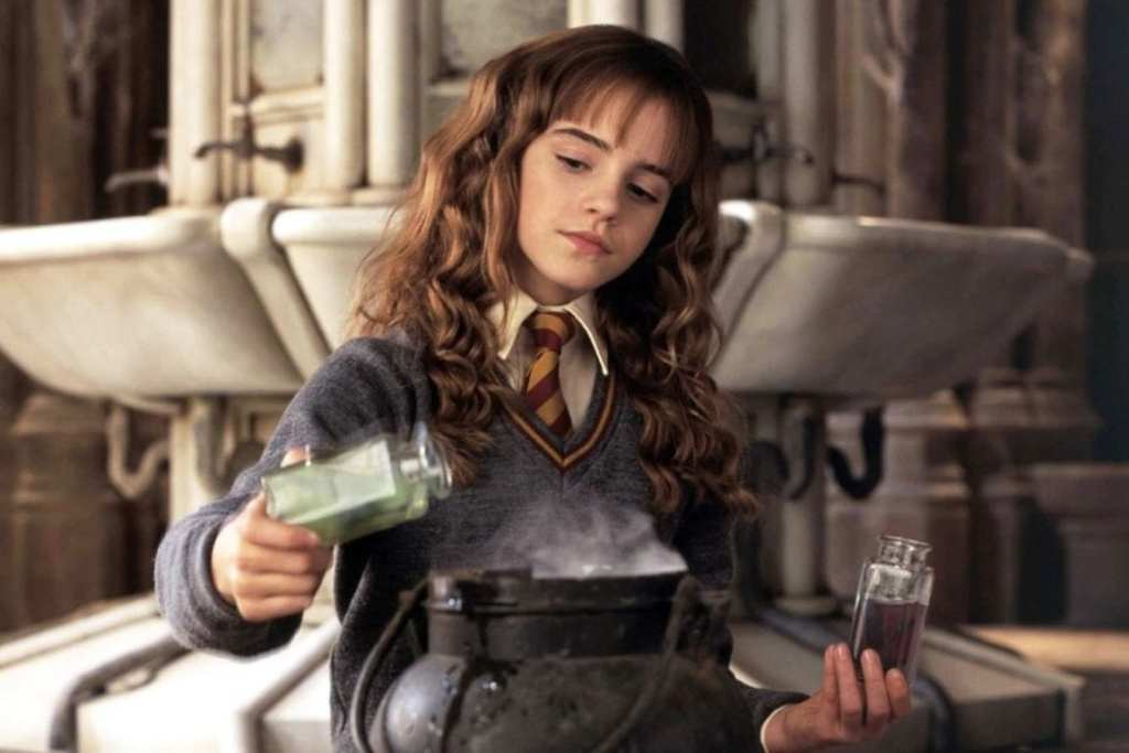 Emma Watson as Hermione Granger in Harry Potter and the Chamber of Secrets