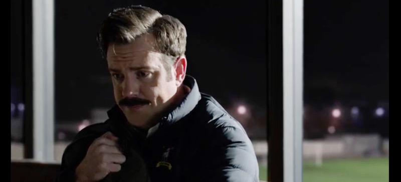 """Jason Sudeikis in Ted Lasso's """"The Signal"""" exclusively on Apple TV+"""