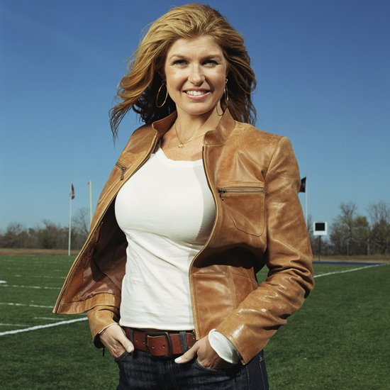 Connie Britton as Tami Taylor in a promotional shot for Friday Night Lights