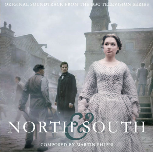 Cover of the North and South original score composed by Martin Phipps.