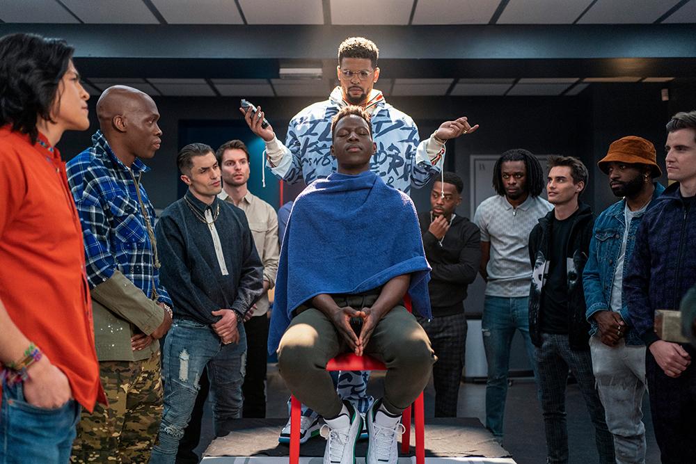 "Toheeb Jimoh and Kola Bokinni in ""Ted Lasso"" season two, episode: ""Man City"" now streaming on Apple TV+."