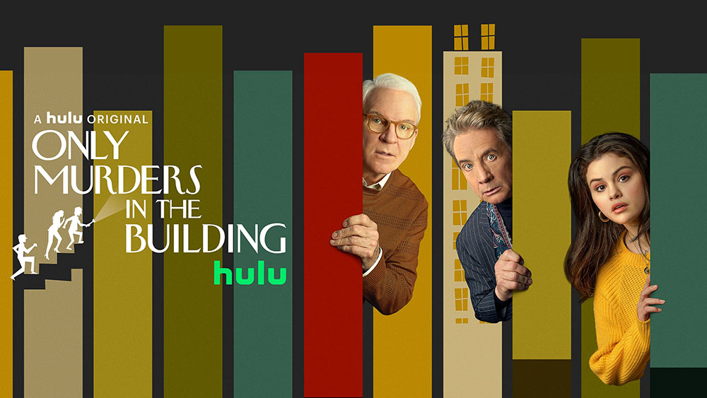 Only Murders in the Building on Hulu key art