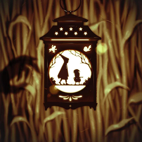 Key art for Over the Garden Wall's original soundtrack by The Blasting Company