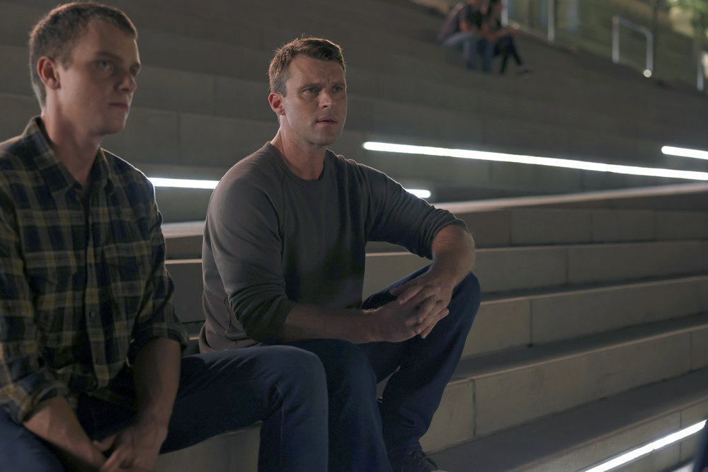 """CHICAGO FIRE -- """"Counting Your Breaths"""" Episode 1003 -- Pictured: Jesse Spencer as Matthew Casey -- (Photo by: Adrian S. Burrows Sr./NBC)"""