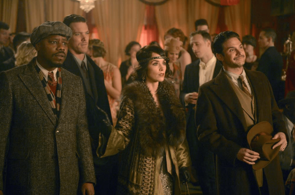 """Episode still from Timeless """"The Lost Generation"""""""