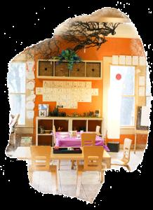 indoor kindergarten classroom