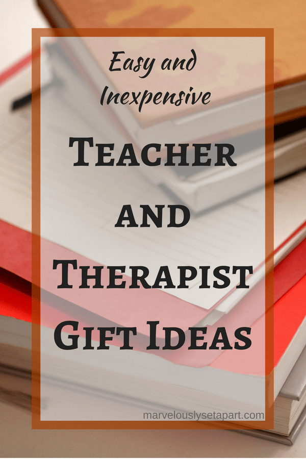 teacher and therapist gift ideas
