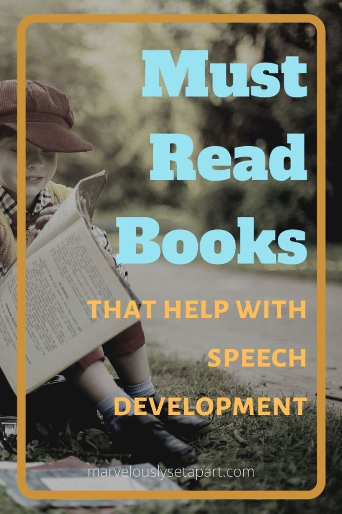 must read books for help with speech