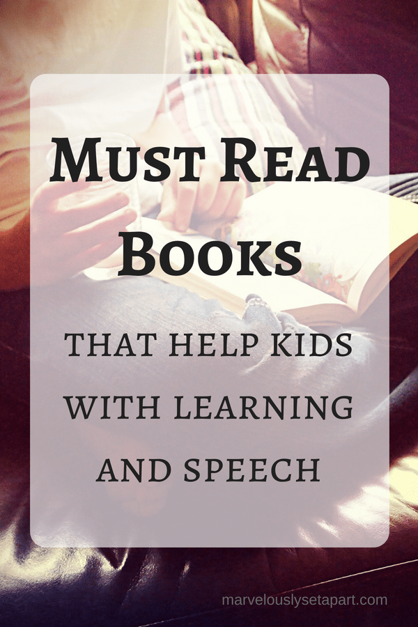 Must read books to help with learning and speech delay