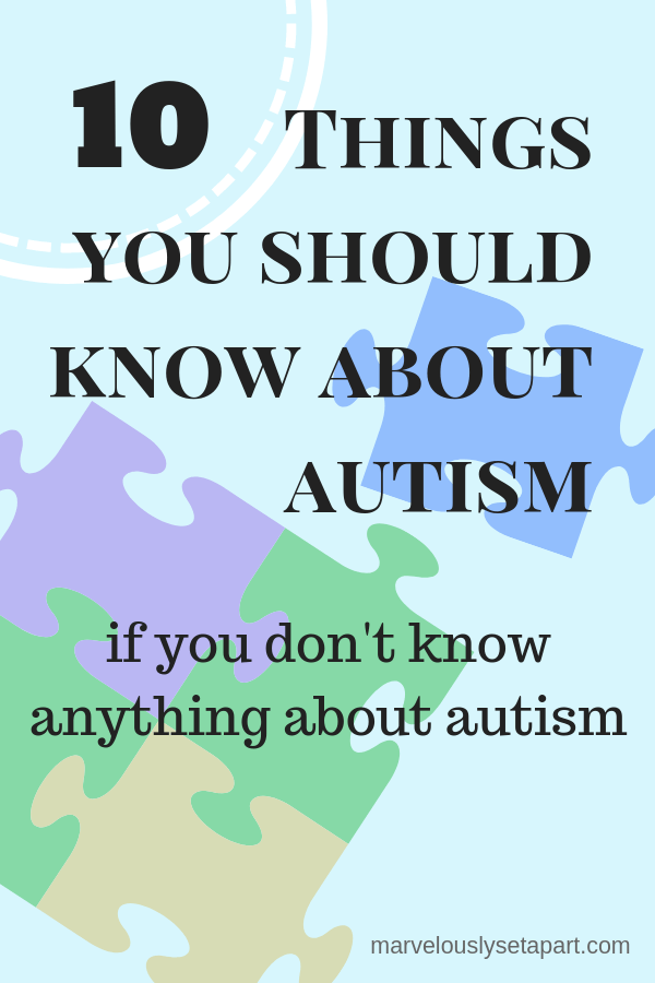 10 things about autism you should know