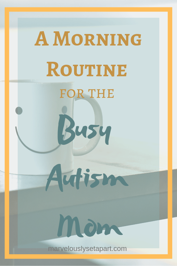 morning routine for autism family