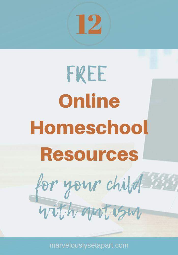 free online homeschool resources