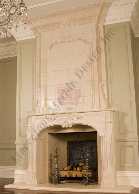 Luxury Fireplace Mantels Fireplace Mantels Design In Limestone Or Marble By