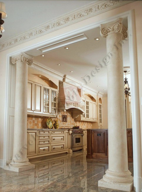 Luxury Fireplace Mantels Marble Columns