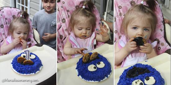 ©Haley's 1st Cake