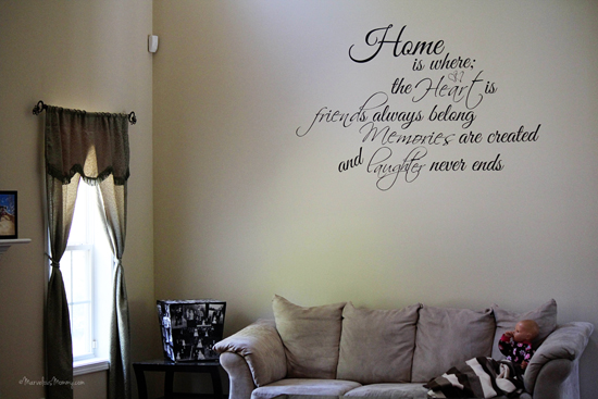 Stunning Custom Wall Decal u Love this one