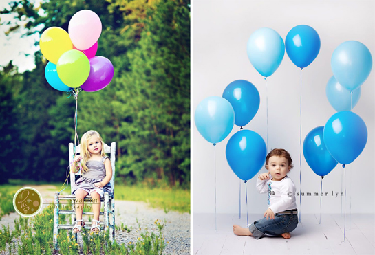balloons prop
