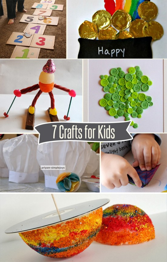 7 Fun Crafts for Kids