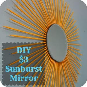 DIY Sunburst Mirror