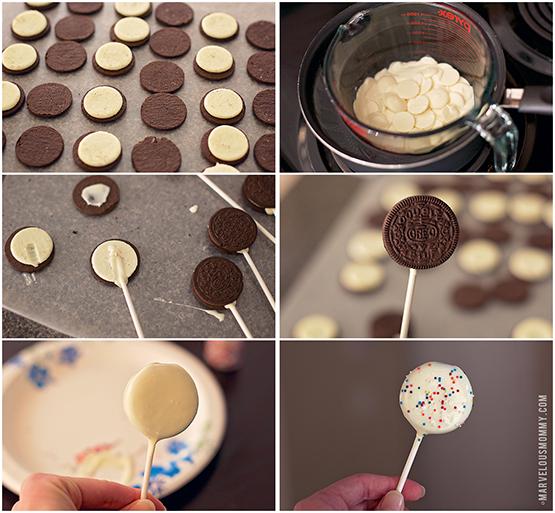 Chocolate Oreo Pops Tutorial