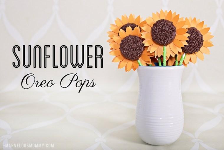 Sunflower Oreo Pops Recipe 900