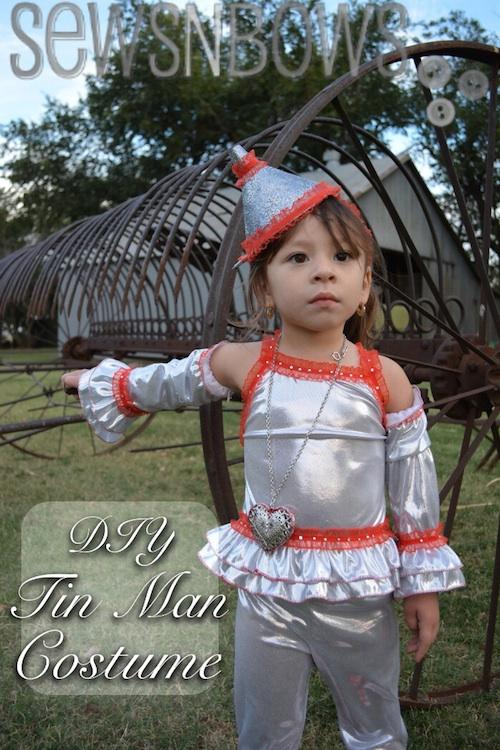 DIY Tin Man Costume