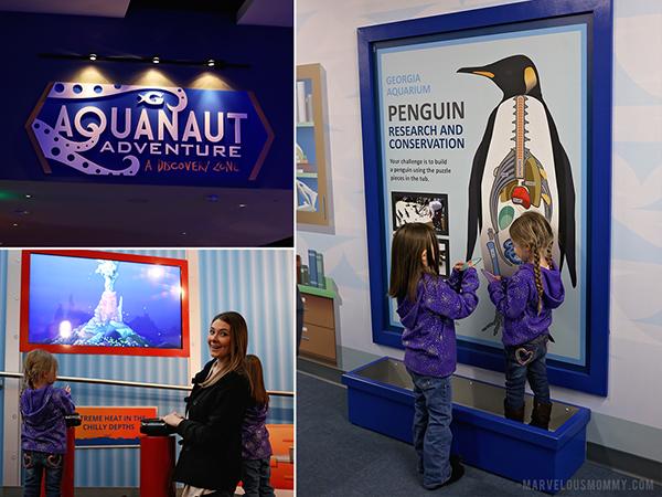 Georgia Aquarium Aquanaut Adventure
