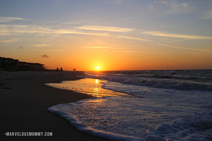St George Island Florida sunrise