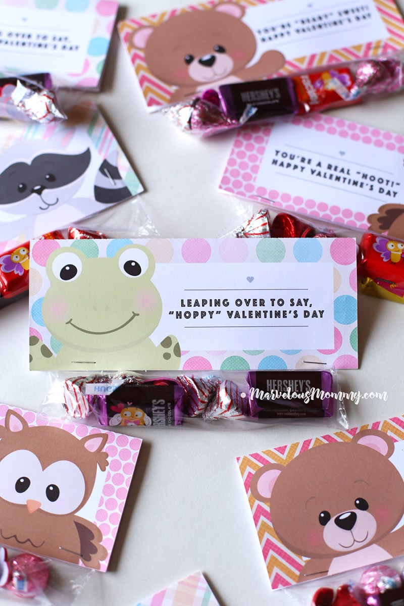 Dinosaur Valentine Favors Valentine Bag Toppers Personalized EDITABLE Valentine Treat Bags Boys Lion Valentines Day Goodie Bag Toppers