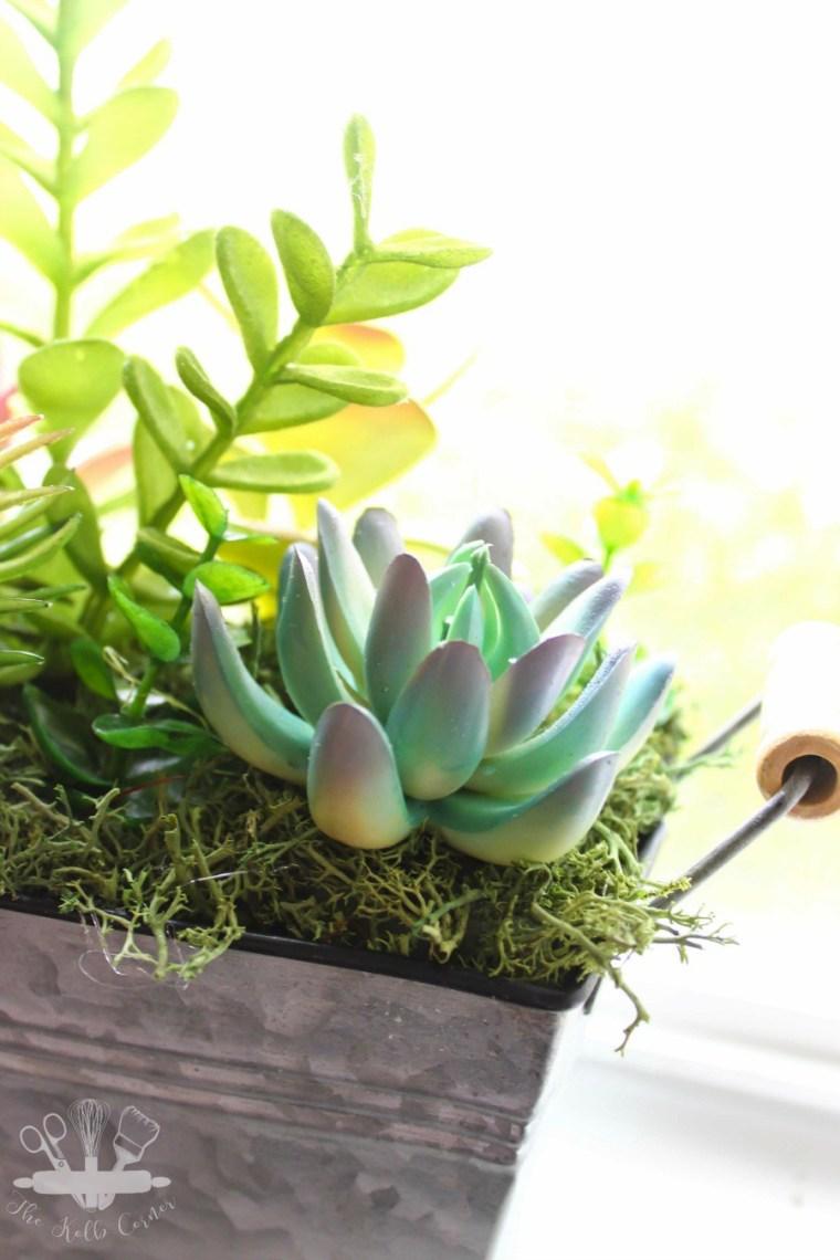 DIY-Faux-Succulent-Planter