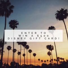 $500 Disney Gift Card