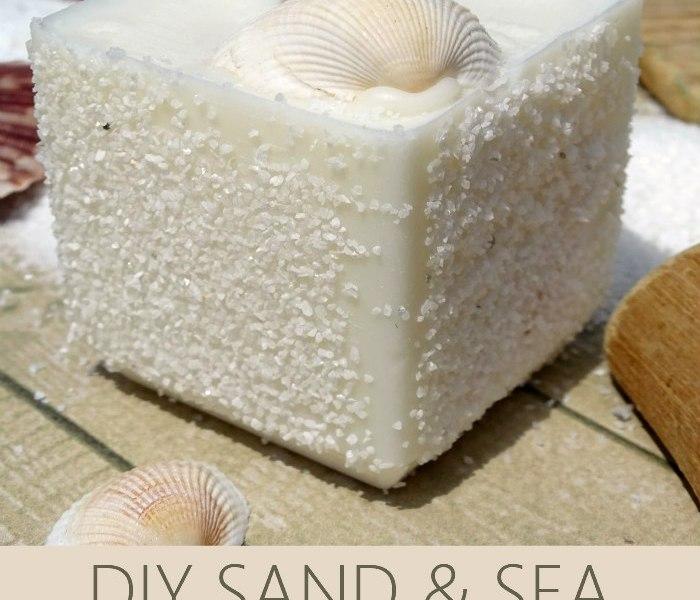 DIY SAND & SEA CANDLES