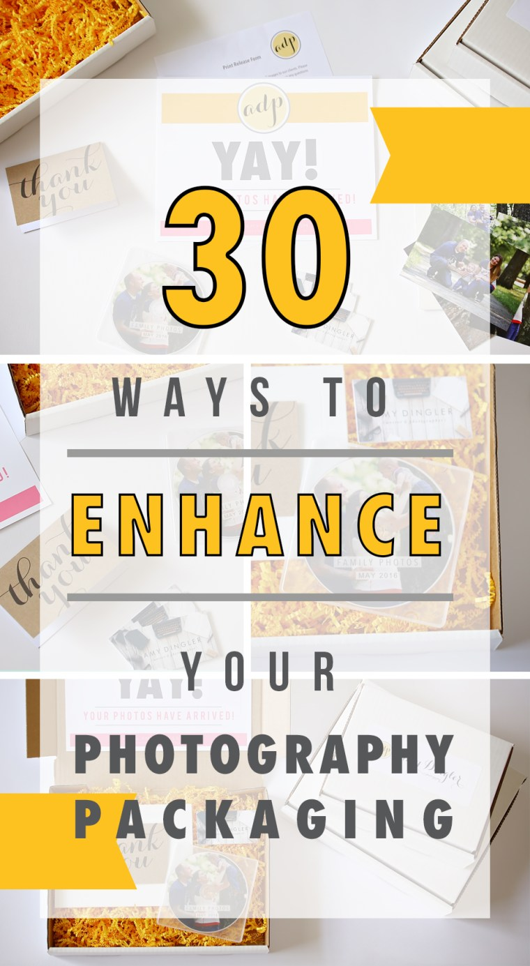 Ways To Enhance Your Photography Packaging Design